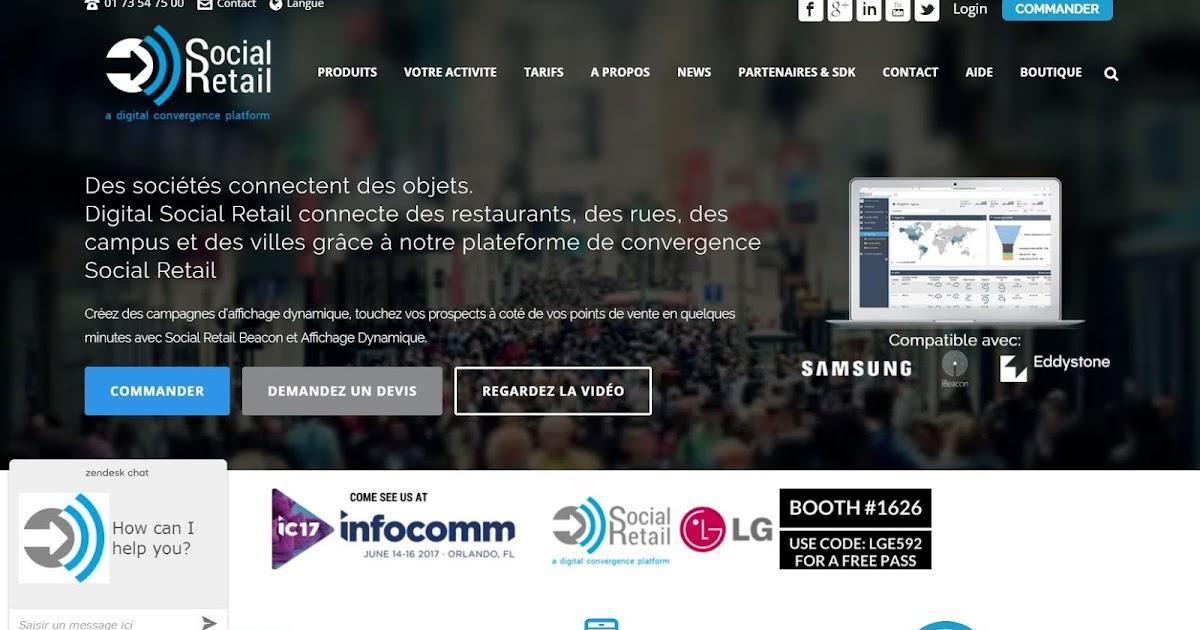 Andr rocheleau passionn d v des affaires pubs for Salon nouvelle technologie