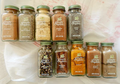 Simply Organic Set of Holiday Spices Giveaway (sweetandsavoryfood.com)