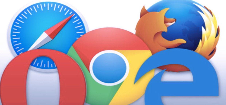 logo web browser paling populer