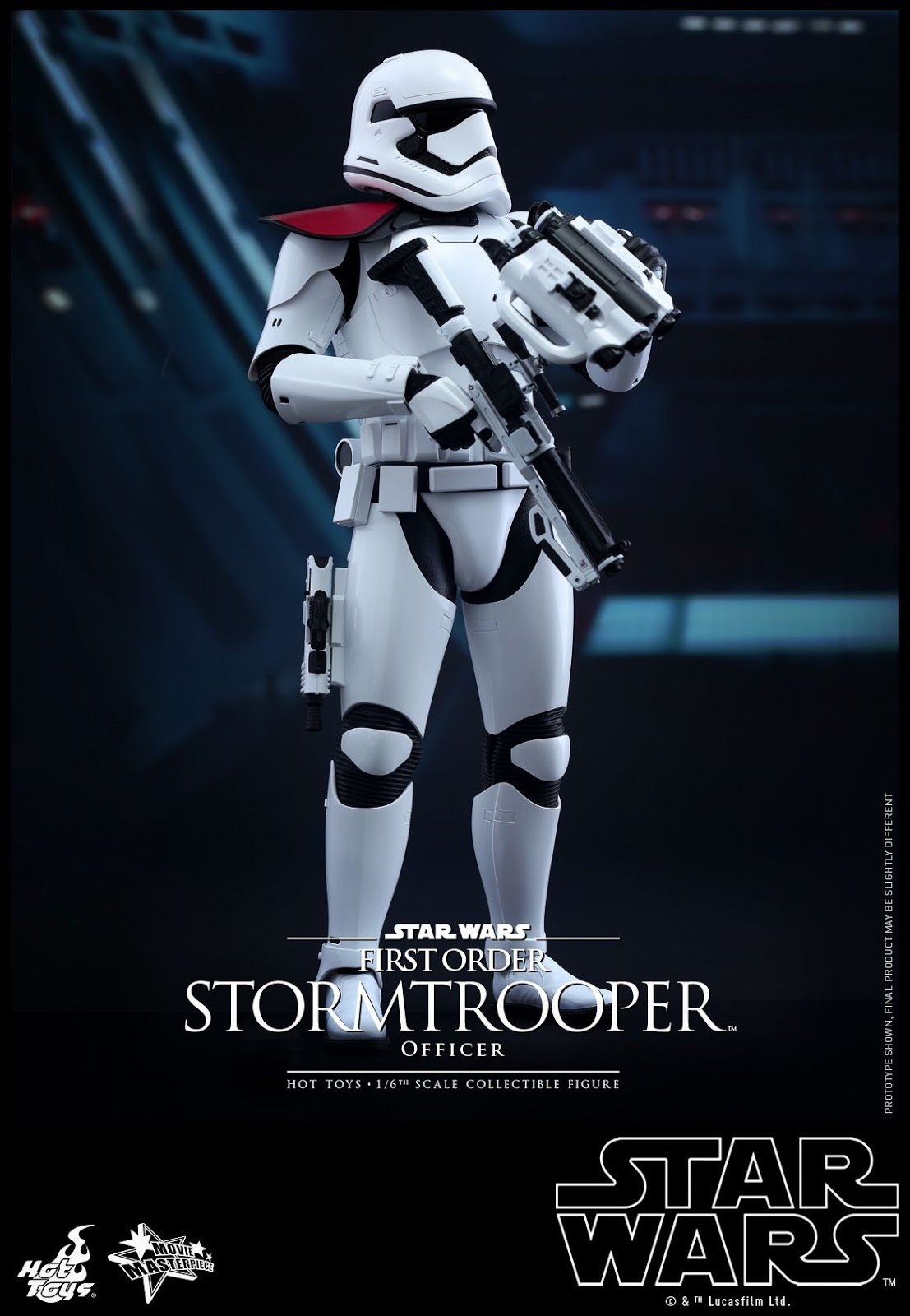 Hot Toys The Force Awakens First Order STORMTROOPER OFFICER & STAR WARS 12 Inch Figures Blog: Hot Toys The Force Awakens First ...