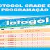 Programação da lotogol 1033 grade dos próximos 5 jogos
