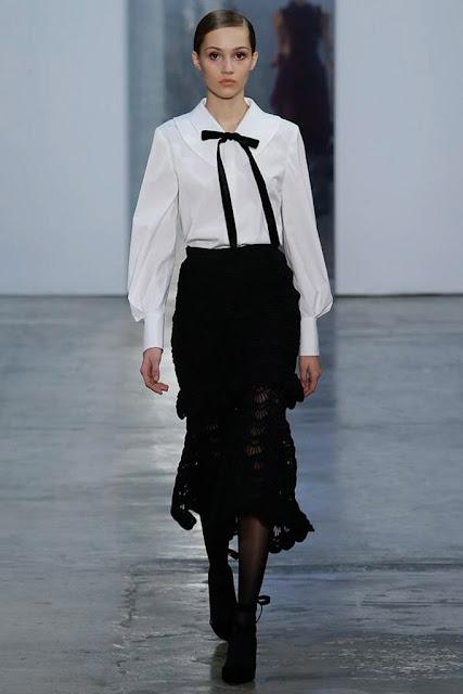 camisa blanca, carolina herrera, new york fashion week, nyfw, desfile, runway, fw17, events, eventos, basicos de armario, chic