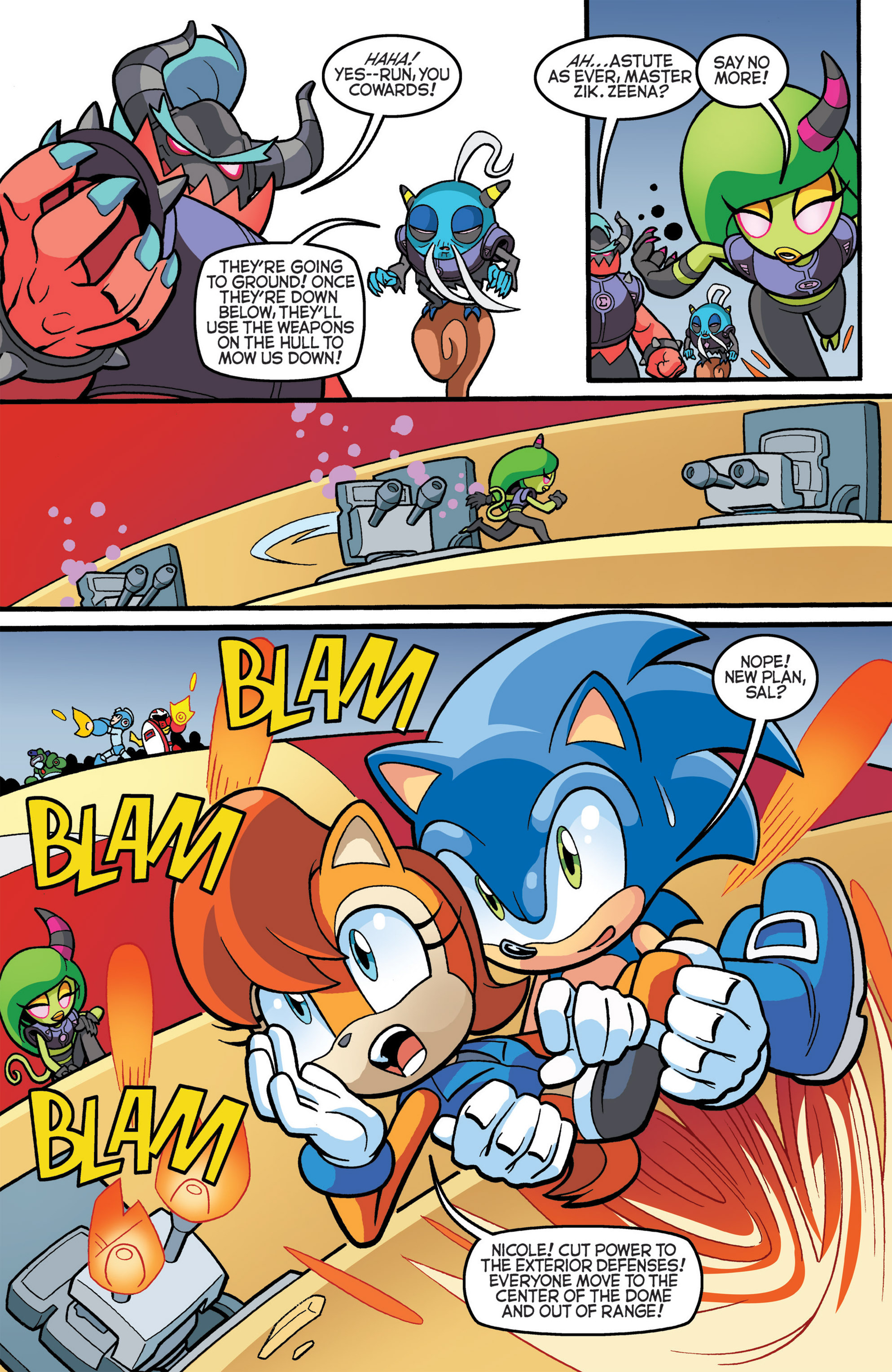 Read online Sonic The Hedgehog comic -  Issue #274 - 9