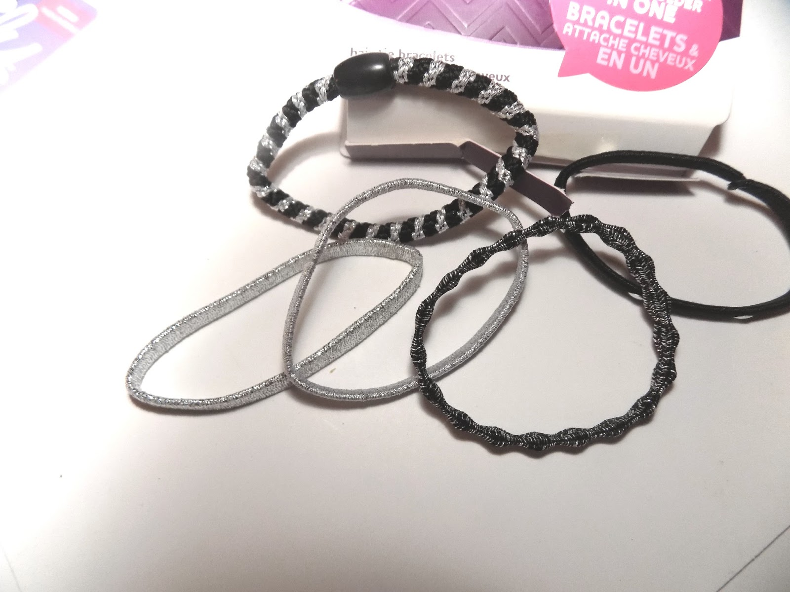 There is a wide range of new from the brand and a few of my favorites are  Bracelets and Hair Ties in One Set  64af37ea367