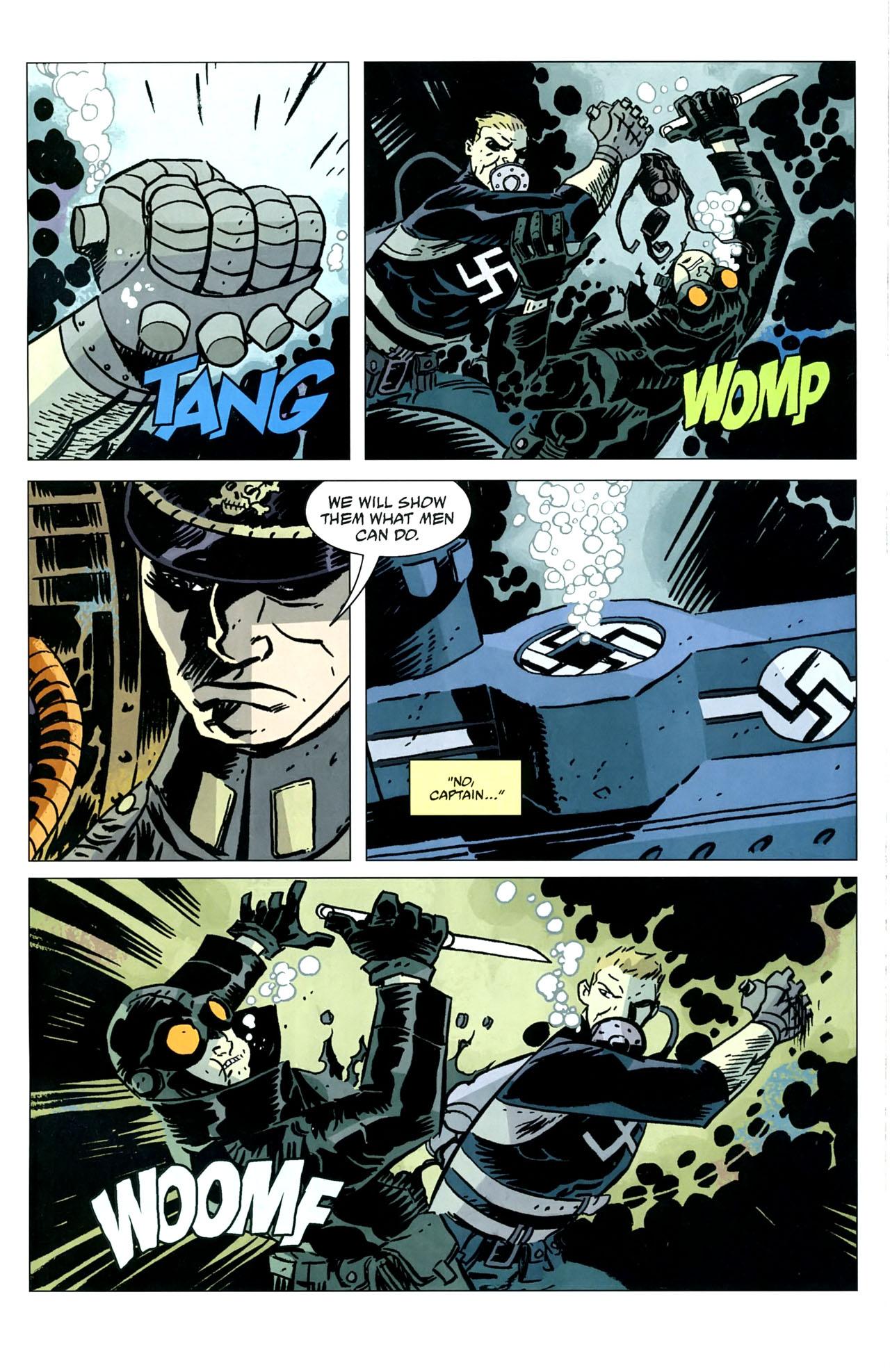 Read online Lobster Johnson: The Iron Prometheus comic -  Issue #5 - 17