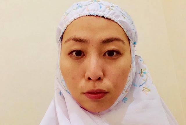 日本人ムスリマのマレーシアおしゃれ礼拝着