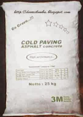 Cold Pavement Asphalt Concrete (CPAC)