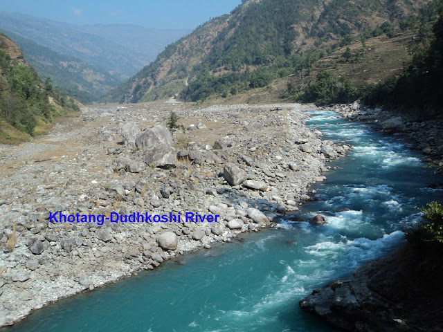 Dodhkoshi River in Khotang