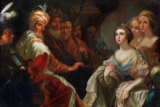 Ester diante do Rei - Andrea Celesti