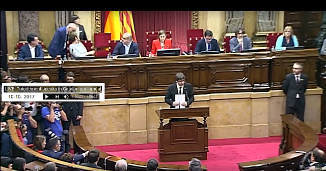 Catalan declaration of independence from Spain