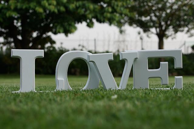 letras corporeas bodas