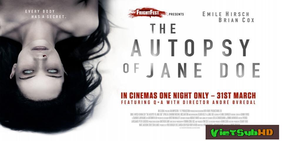 Phim Tử Thi Biết Nói VietSub HD | The Autopsy of Jane Doe 2016