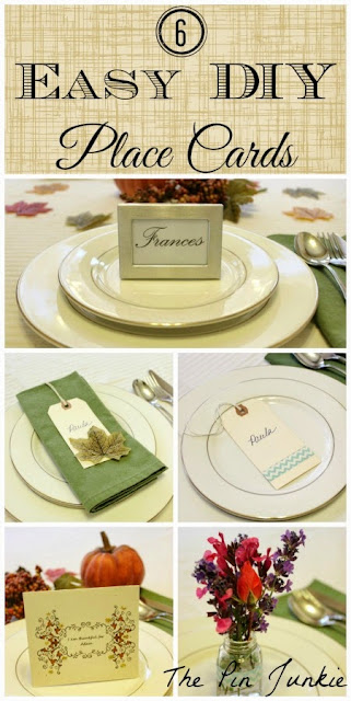 Easy DIY Place Card Ideas
