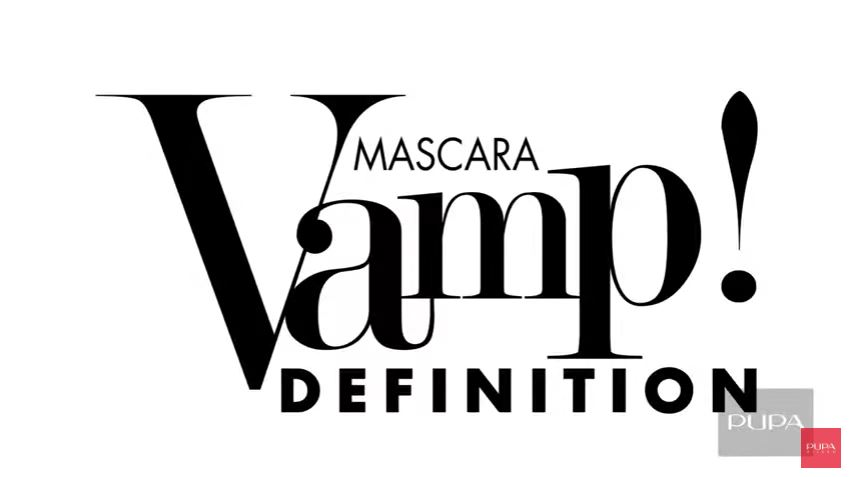 Canzone Pupa pubblicità VAMP! MASCARA DEFINITION con modella in bianco e nero - Musica spot Novembre 2016