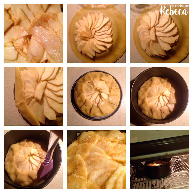 Receta de galette de manzana 04