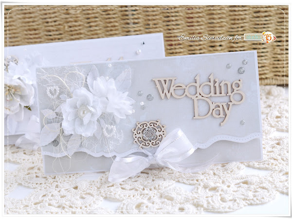 Wedding Envelope Style Cards - Tutorial / Kopertówki Ślubne - Kurs
