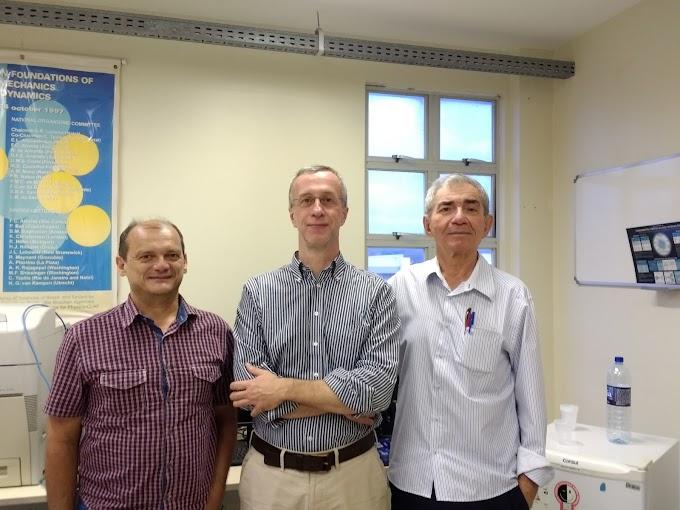 Matemático da Universidade de Coimbra, ganhador do Prêmio Lagrange, participa de pesquisa sobre petróleo na UFRN
