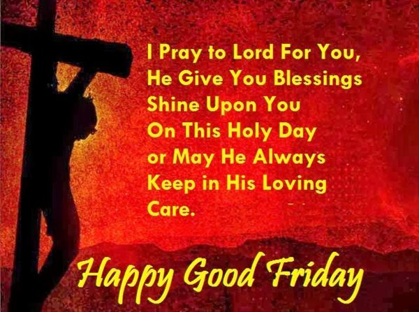#Top 10 Good Friday SMS Wishes Message: Holy Week Good Friday Wishes