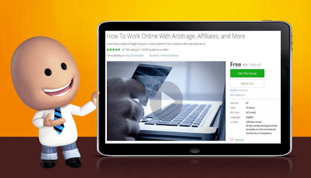 [100% Off] How To Work Online With Arbitrage, Affiliates, and More| Worth 20$