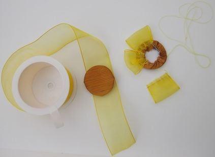 na creates comment faire une fleur avec des rubans. Black Bedroom Furniture Sets. Home Design Ideas