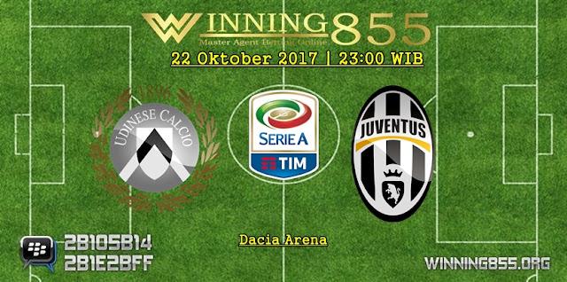 Prediksi Bola Udinese vs Juventus 22 Oktober 2017