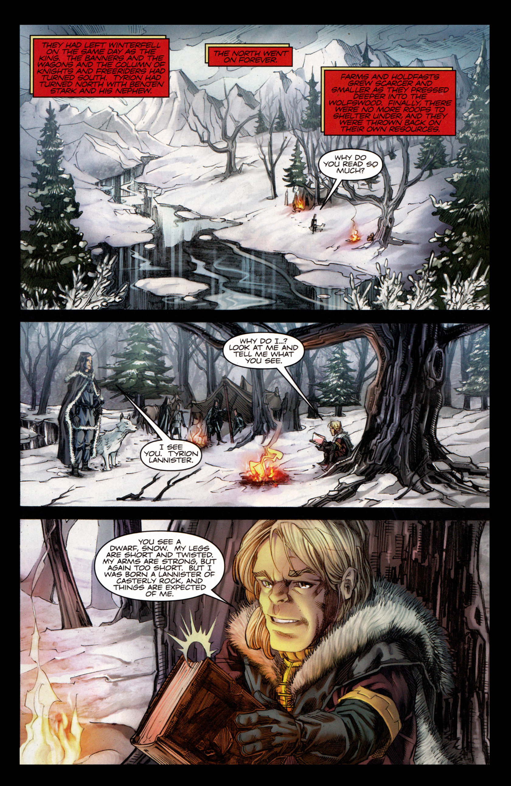 Read online A Game Of Thrones comic -  Issue #4 - 15