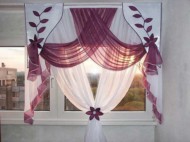 Exceptionnel The Best Curtain Designs Ideas And Colors For Kitchen 2018, Kitchen Curtains  2018