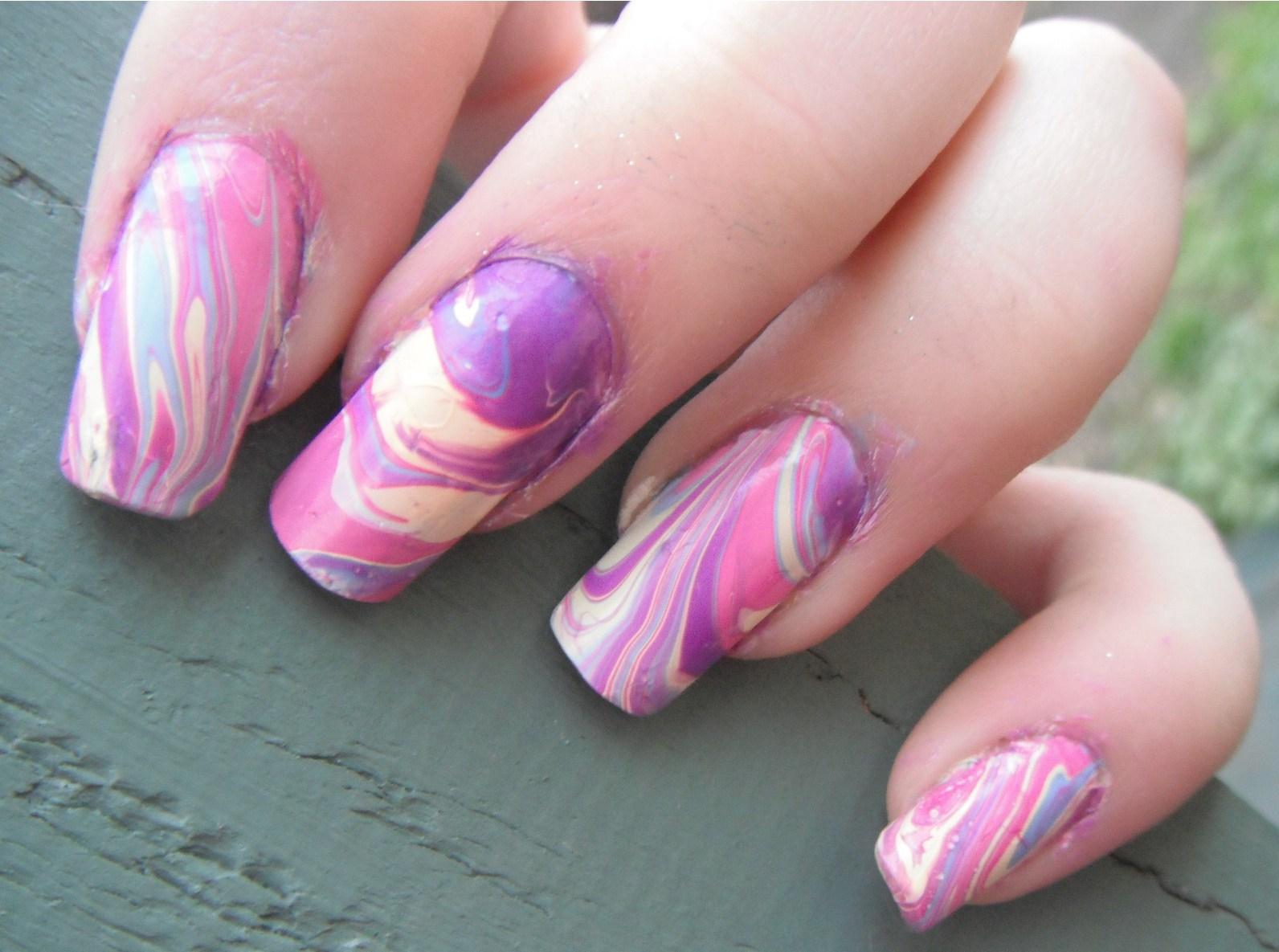 Nail Designs Marble | Nail Art Designs