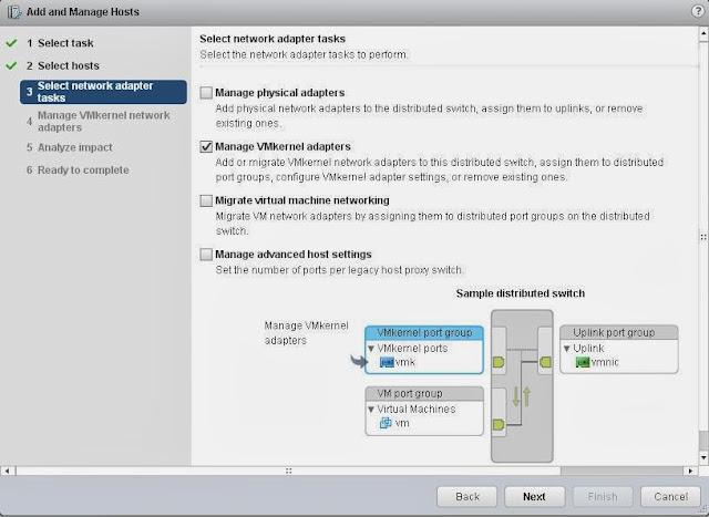 MIGRATE VMKERNEL NETWORK FROM STANDARD SWITCH T    |VMware