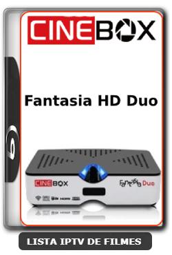 Cinebox Fantasia HD Duo Nova Atualização Modificada Correção SKS 61w - 22-06-2020