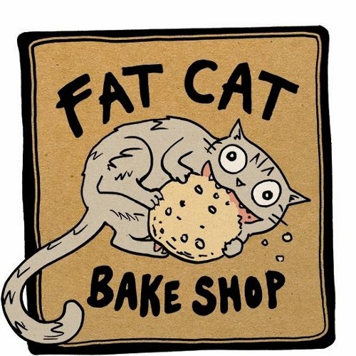Fat Cake Bake shop logo