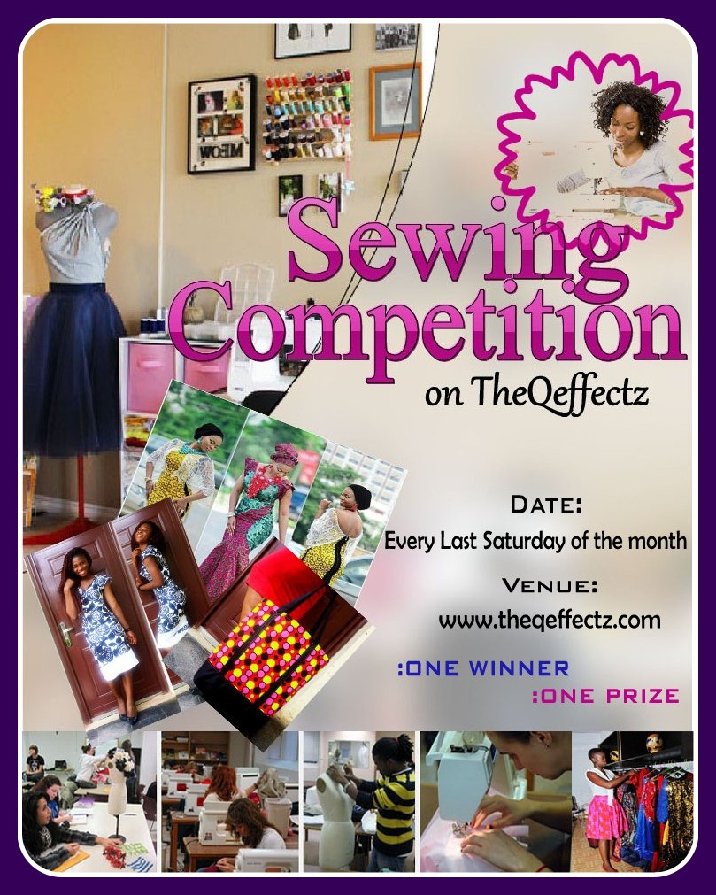 THE Q EFFECTz SEWING COMPETITION: JOIN NOW!