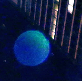 blue green orb