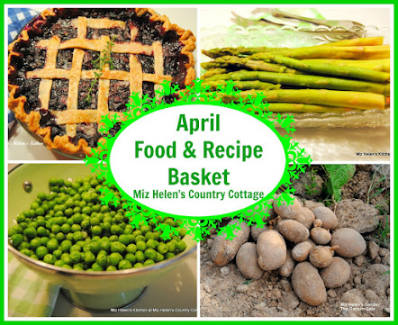 April Food and Recipe Basket