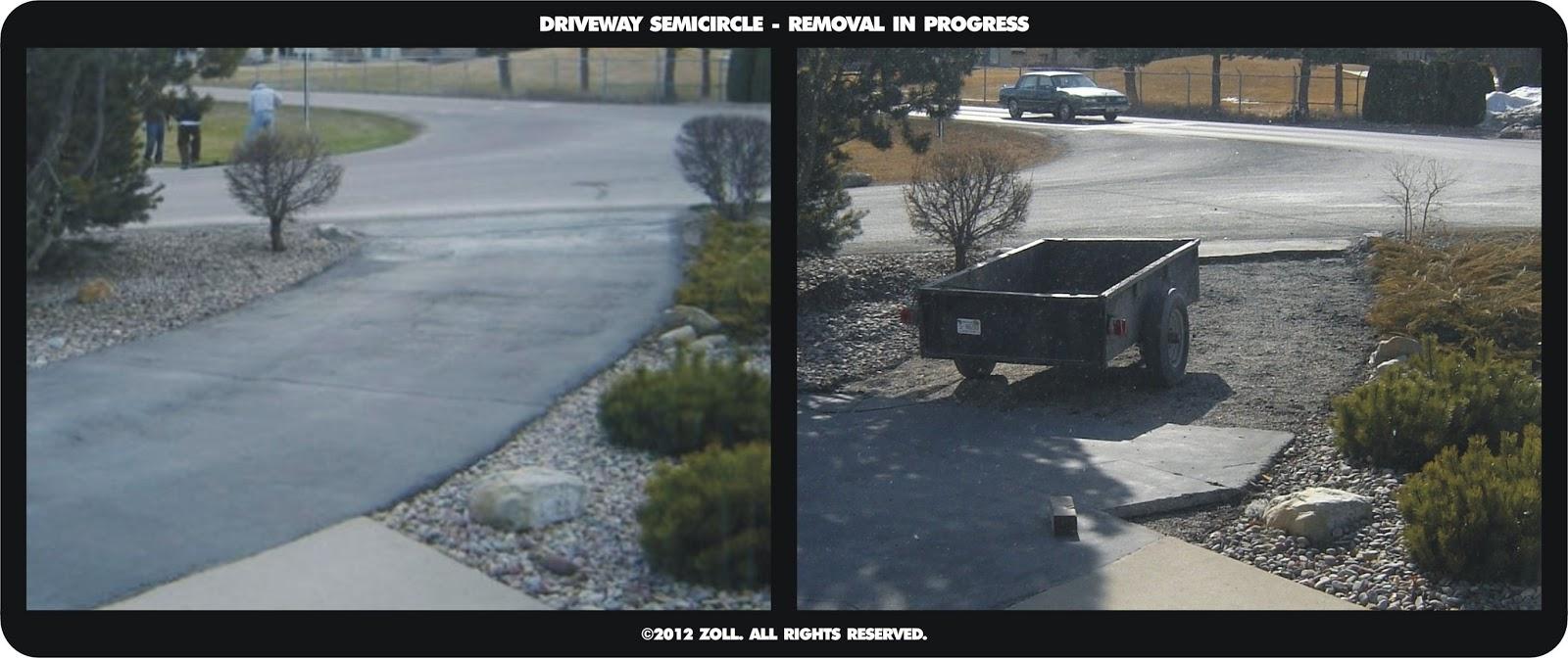 manic maker: diy asphalt driveway removal, part one