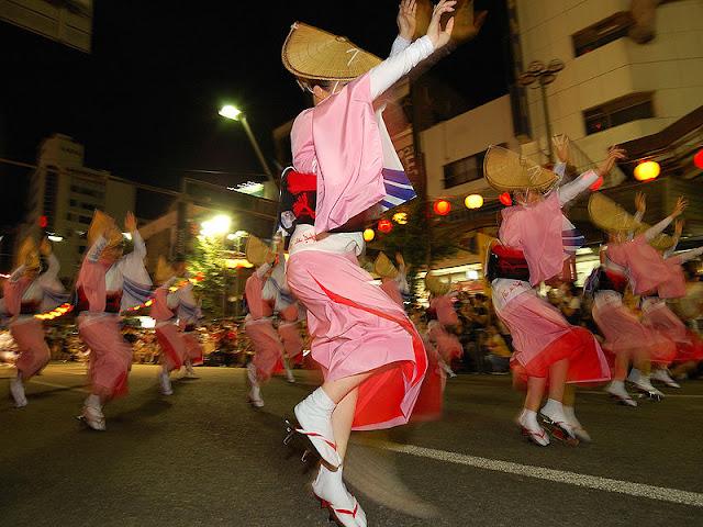 Awa Odori (Dance Festival) in Tokushima Pref.