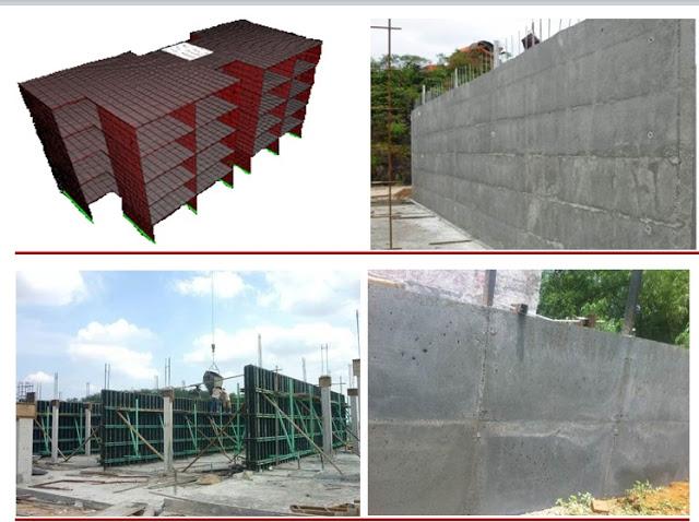Tường đặc chịu lực Panel 3d