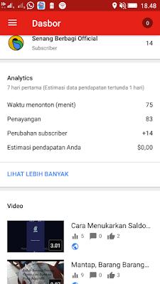 Cara Memanfaatkan Aplikasi Youtube Studio dari Smartphone Android