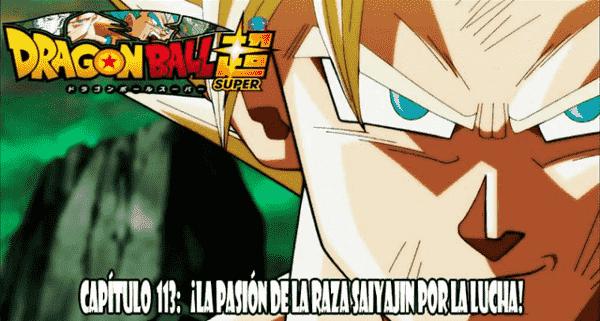 Ver Dragon Ball Super capitulo 113, Caulifla declara que ella luchará contra Goku! Sin embargo, dado que no puede igualar a Goku.