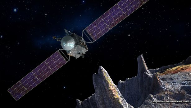 NASA is sending a robotic spacecraft to investigate a giant metal asteroid known as 16 Psyche, which could contain gold