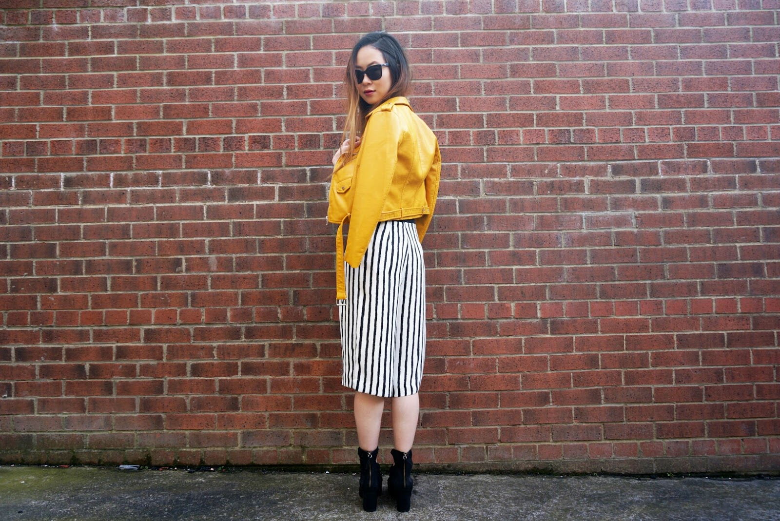Leather jacket yellow zara - Don T Forget To Follow Me On Bloglovin Twitter Pinterest Instagram