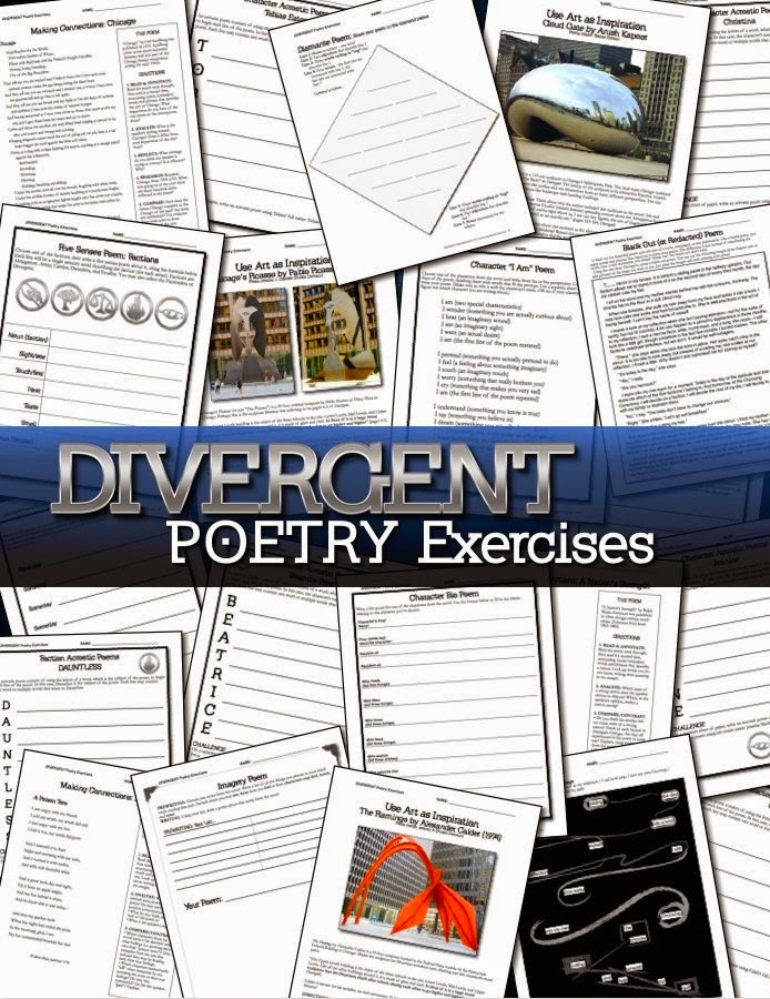 Divergent Poetry Activities (www.traceeorman.com)