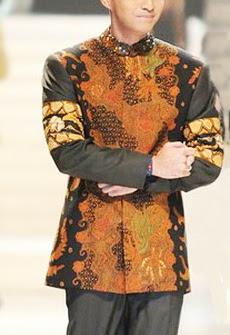 batik pria modern unik