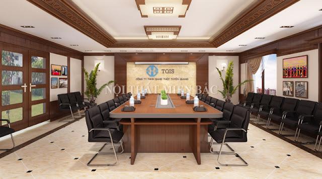Phong cách ấn tượng trong các thiết kế nội thất phòng họp cao cấp - H1