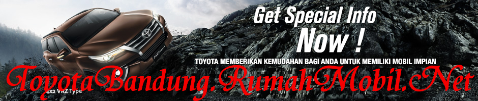 Daftar Harga Toyota Fortuner OTR Bandung