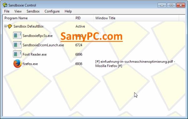 Sandboxie Free Download Full Latest Version