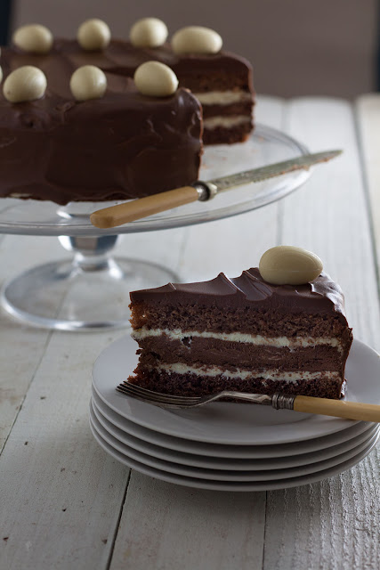 A Showstopping Easter Cake, Chocolate Truffle Cake
