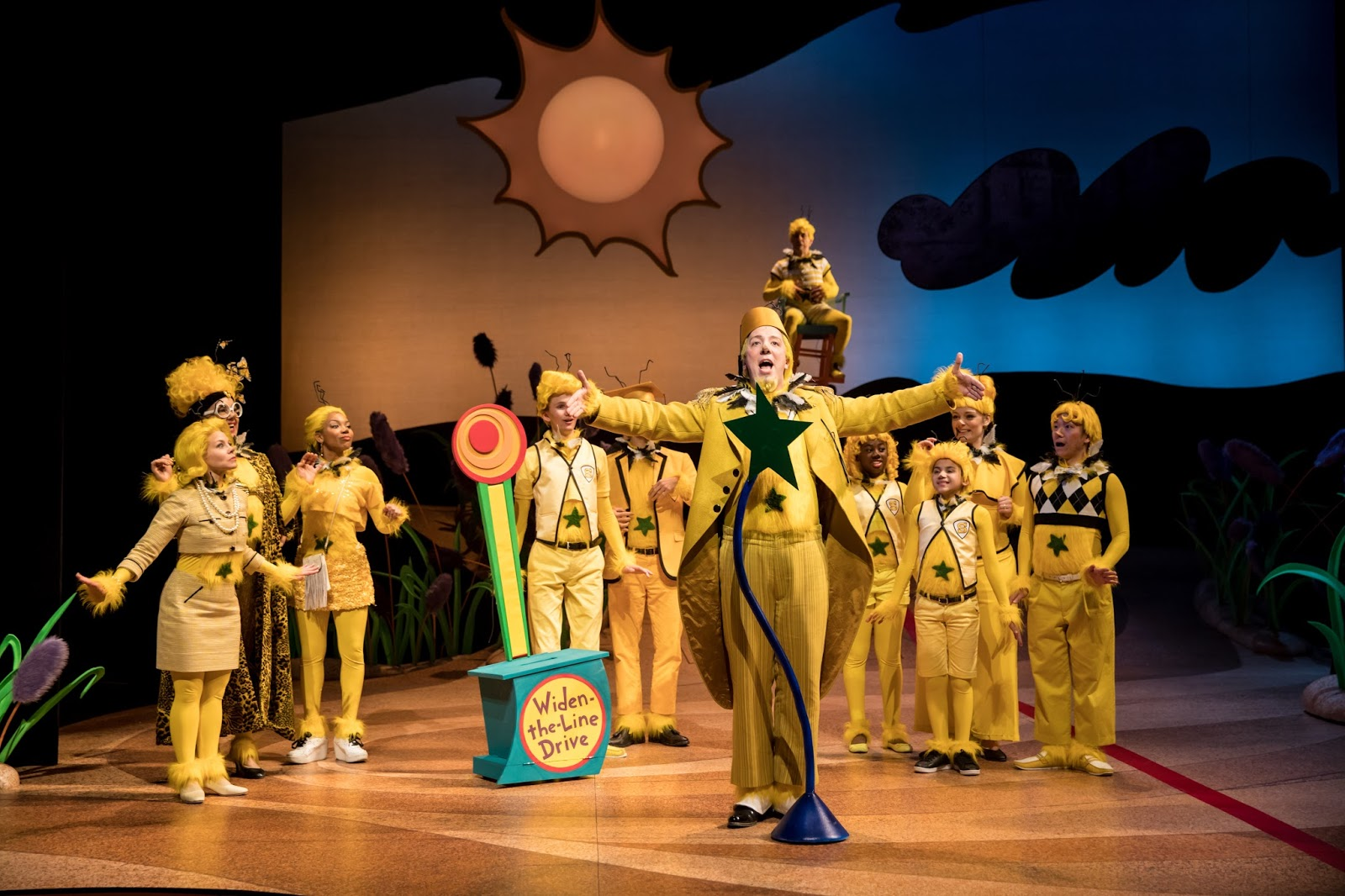 the star-bellied Sneetches (photo by Dan Norman) & Cherry and Spoon: