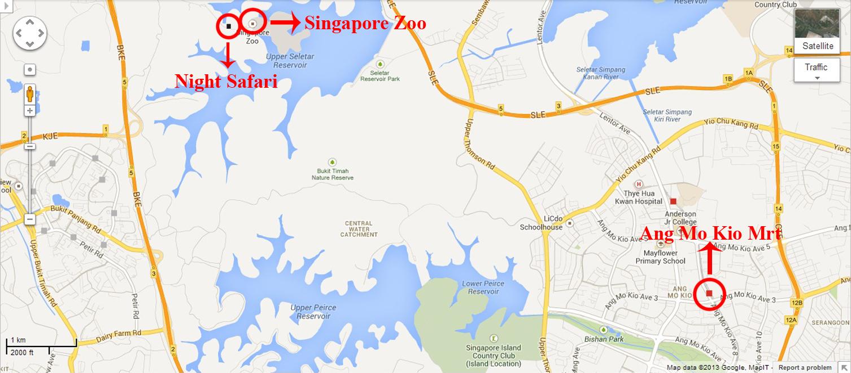 Singapore Zoo Amp Night Safari Travelz Mania