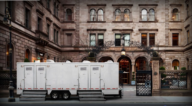 Mobile Restroom Trailers--The Manhattan